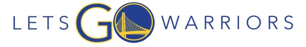 Official banner from the Let's Go Warriors site