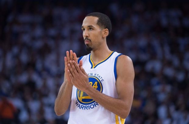 January 5, 2015; Oakland, CA, USA; Golden State Warriors guard Shaun Livingston (34) during the second quarter against the Oklahoma City Thunder at Oracle Arena. The Warriors defeated the Thunder 117-91. Mandatory Credit: Kyle Terada-USA TODAY Sports