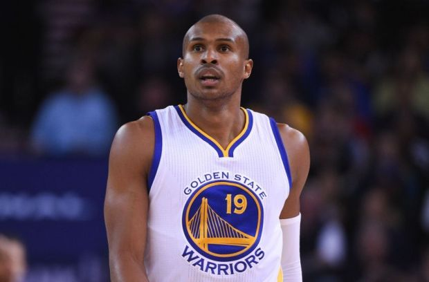 November 13, 2014; Oakland, CA, USA; Golden State Warriors guard Leandro Barbosa (19) looks on during the first quarter against the Brooklyn Nets at Oracle Arena. The Warriors defeated the Nets 107-99. Mandatory Credit: Kyle Terada-USA TODAY Sports